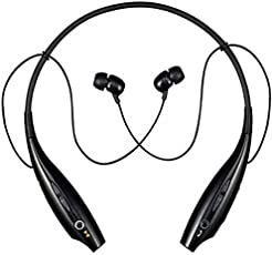 Bluetooth Headphones, Wireless Headphones, Smazing® Wireless Bluetooth Earphones Stereo Sweatproof Magnetic Earbuds Secure Fit For Sports Gym Running Exercising With Built-In Mic Microphone (XBOX 2nd Gen Black)