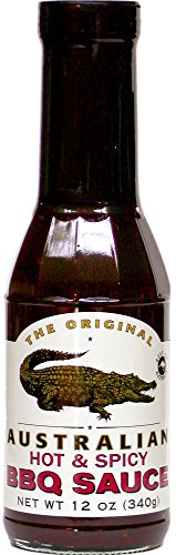 The Original Australian - Hot & Spicy BBQ Sauce - 355 ml