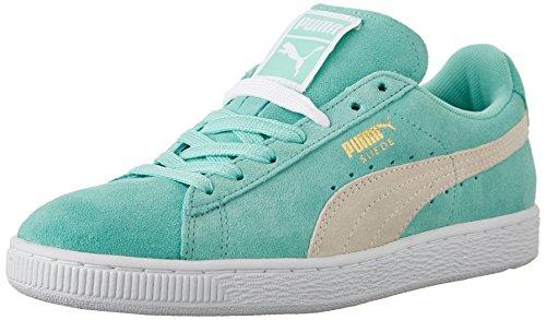 Puma Camurça Clássico Damen Sneakers Férias / Branco