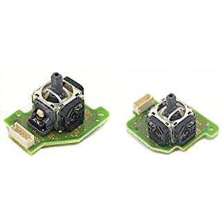 Ake Replacement Left and Right 3D Analog Joystick for Nintendo Wii U Gamepad Controller (1 set)
