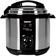 Geepas Electric Pressure Cooker, 6L