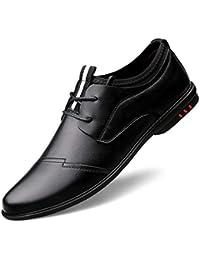 c026afbc6310 ChengxiO Herbst Leder Breathable Herren Business Casual Schuhe koreanische  Version der Gezeiten Punkt Stirnband Jugend Business