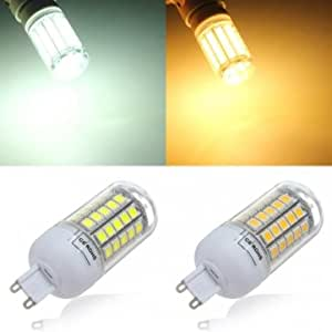G9 6W 708LM 59 SMD 5050 LED Energy Saving Corn Light Bulb AC 220V --- Color:warm white