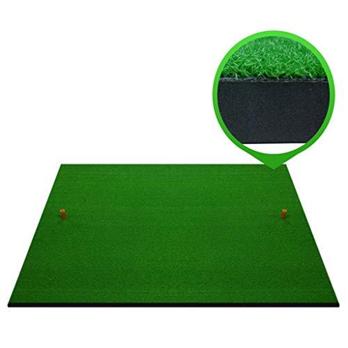 Golf Zubehör Launch Pad Mat Golf Simulator Trainingsgerät Pad Golf Abschlagmatte Grün [Dicke 2cm] (größe : 100cm*100cm)