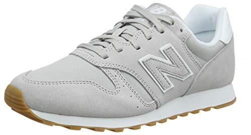 New Balance Herren 373 Sneaker, White Rain Cloud, 44.5 EU -