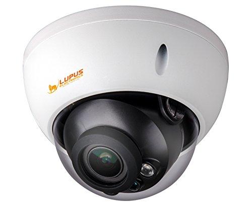 Lupus Electronics 13310 GEODOME - LE 338HD wetterfeste Vario-Domekamera mit 1080p Auflösung und 30 Meter Nachtsicht, Weiß -