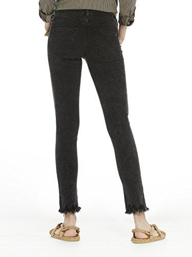 Scotch & Soda la Parisienne-Faded Black, Jeans Slim Donna Nero (Faded Black 1065)