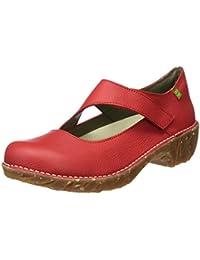 El Naturalista Ng51 Soft Grain Yggdrasil, Zapatos de Tacón con Punta Cerrada para Mujer