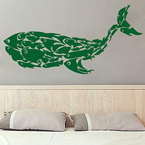 adesivo di arte della parete citazione cucina decalcomania saluto Adesivi murali in vinile rimovibile per ristorante Decor ~ 1 49 * 99cm