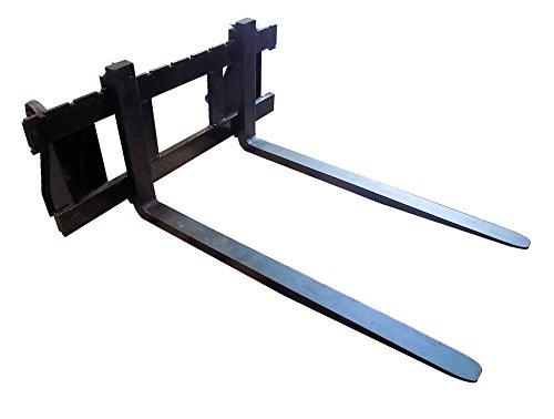 BBT@ | FEM2 Gabelträger Breite120cm Euroaufnahme für Frontlader mit 2 x Gabelzinken Länge 120cm