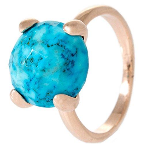 Bronzallure Damen-Ring Bronze Tuerkis blau Gr.56 (17.8) WSBZ00013T-16