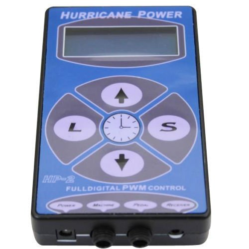 LCD Hurricane Digital Display Tattoo Power Supply Maschine Netzteil Netzgerät DE (E-power Maschine)