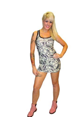 Insanity - Canotta -  donna 100 Dollar Bills