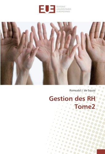 Gestion des RH Tome2 par Romuald J. de Souza