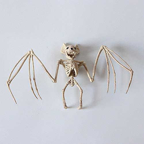 (Fledermaus Skelett Modell Halloween Horror Tierschmuck Haunted Haus Requisiten Dekoration)
