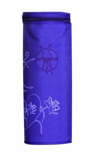 Lässig LBHS12210 Casual Bottle Holder Fläschchenwärmer, Vertical dark purple, mehrfarbig