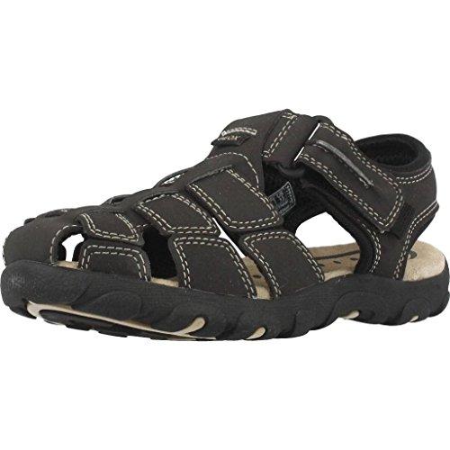 Sandalen/Sandaletten Jungen, color Br�une , marca GEOX, modelo Sandalen/Sandaletten Jungen GEOX JR SANDAL STRADA Br�une