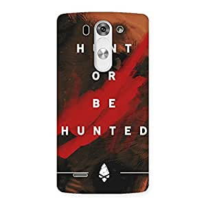 Delighted Hunted Multicolor Back Case Cover for LG G3 Mini