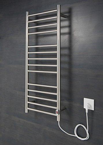 Elektrischer Handtuchheizkörper, Badheizkörper 1000x400 Chrom