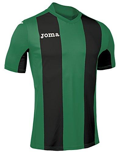 Joma pour homme Camiseta Pise M/C Sport T-shirt VERDE-NEGRO