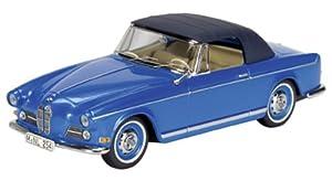 Schuco 02245 Classic 1:43 - BMW 503 Convertible de Techo Blando, Azul