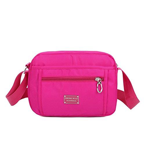 sac en nylon imperméable/Mme Messenger Bag/tissu/Oxford tendance en tissu-D E