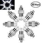 Vanble 30pz Impermeabile LED Palloncini luci per Lanterne di Carta Palloncini Decorazione (30)
