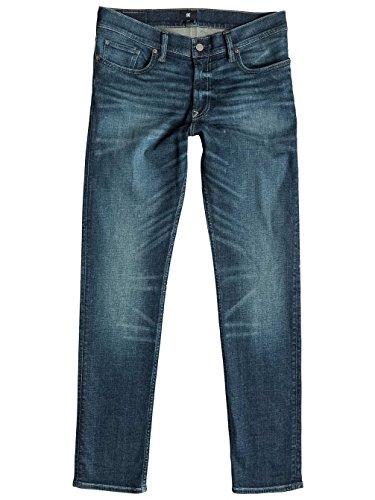 Herren Jeans Hose DC Washed Slim Jeans light worn