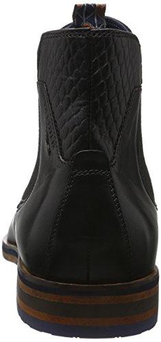 Daniel Hechter Herren 811211201000 Chelsea Boots Schwarz (schwarz 1000)