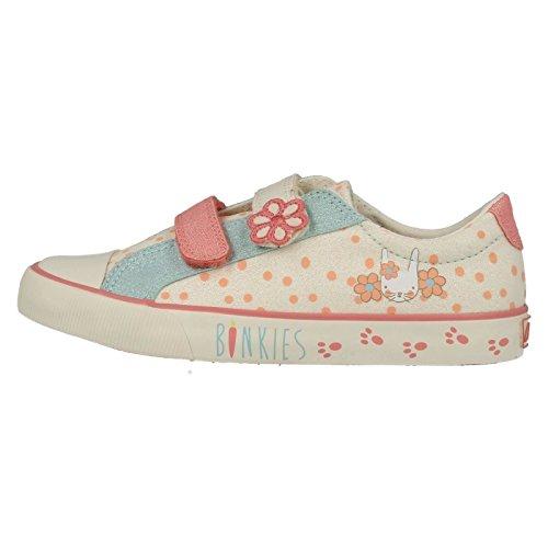 Clarks GracieEars Chaussures en toile pour bébé Beige - beige