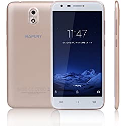 "CUBOT HAFURY MIX(2017) - Smartphone Libre 3G Android 7.0, (Pantalla táctil 5.0"" HD, 2600mAh batería, 2GB Ram + 16GB ROM, Quad core, Dual SIM, Cámara 13Mp, 1.3 GHz), color dorado[ CUBOT OFICIAL ]"