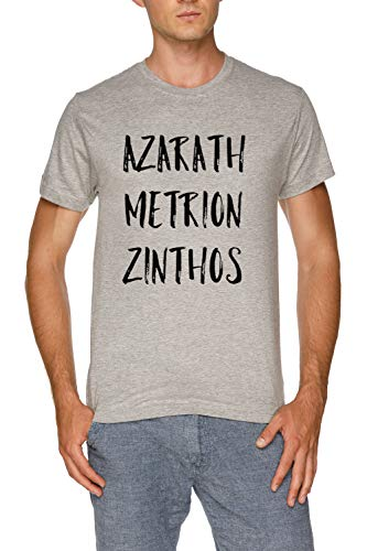 Azarath Metrion Zinthos - Teen Titans Herren Grau T-Shirt Größe XXL | Men's Grey T-Shirt Size XXL