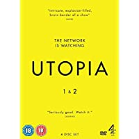 Utopia (Series 1 & 2) - 4-DVD Box Set
