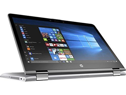 HP Pavilion x360 14-ba138ns - Portátil convertible táctil 14' FullHD (Intel Core i5-8250U, 8 GB RAM, 1 TB HDD , Intel Graphics, Windows 10); color plata  - Teclado QWERTY Español
