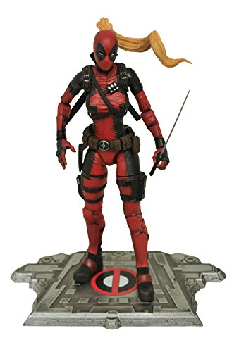 Marvel Comics dec162578Select Lady Deadpool Action Figur