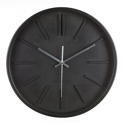 Maison futée - Horloge murale design 35 cm - Noir