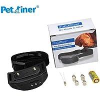 Petrainer Original PET852, Collar Anti ladridos, 2018, Pila 6v, Collar con Niveles Ajustable de sensibilidad, Niveles Regulables automáticos Escalante