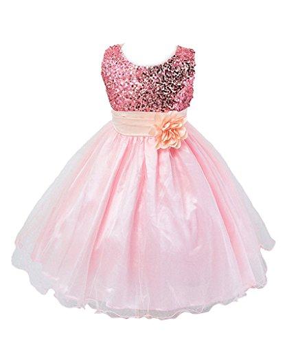 Showtime Mädchen Kleid Pinzessin Kostüm - Pink - ca. Alter 3 bis 4 (in Jahren) (1 Jahr Alten Mädchen Kostüme)
