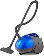 INALSA Vacuum Cleaner Gusto-1000W with Blower and 1.5L Washable Cloth Filter Bag, 100% Copper Motor, Powerful