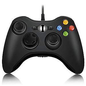 InLife Gamepad XBOX 360 Controller für alle Windows Systeme und XBOX 360 mit Kabel (schwarz) [microsoft_xbox_360] …