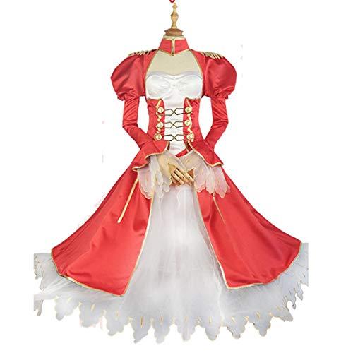 YKJ Anime Cosplay rotes Kleid Abendkleid Halloween kostüm kostüme Halloween kostüm,Suit-M