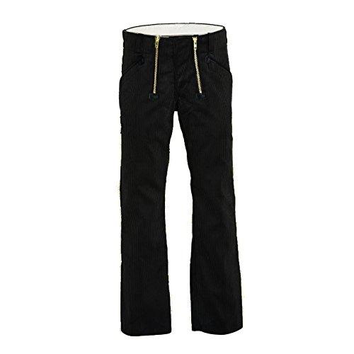 FHB Zunfthose ohne Schlag, Arbeitshose, schwarz, Gr. 90