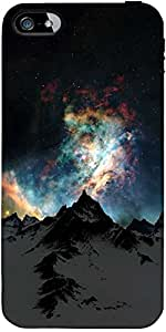 Snoogg Aurora Galaxy Designer Protective Back Case Cover Forforapple Iphone 5...
