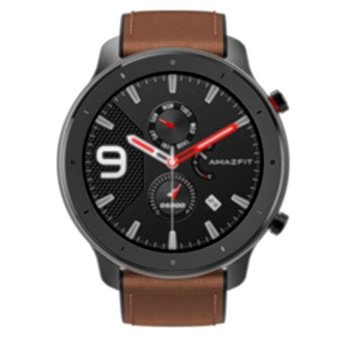 Amazfit GTR 47mm elegante Smartwatch con All-Day Cardiofrequenzimetro 24h, Activity Tracking, Batteria lunga durata, Ampio display a colori