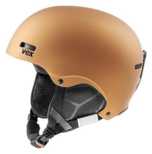 UVEX Erwachsene Skihelm Hlmt 5 Pure, Copper Mat, 59-62 cm, 5661478007