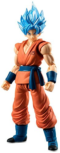 Dragon Ball Z Shodo SSGSS Son Goku Action figure standard