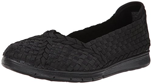 Skechers Prima Ballet donna, tela, sneaker bassa Black/black
