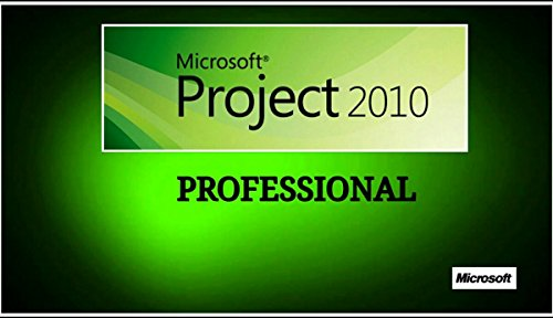 Microsoft Office Project Professional 2010 Vollversion (Product OEM Key ohne Datenträger inkl....