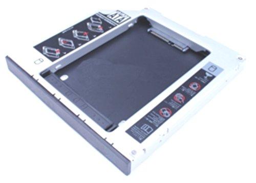 Universal Laufwerkschacht HDD / SSD Festplatten Adapter Einbaurahmen SATA zu SATA 12.7mm...