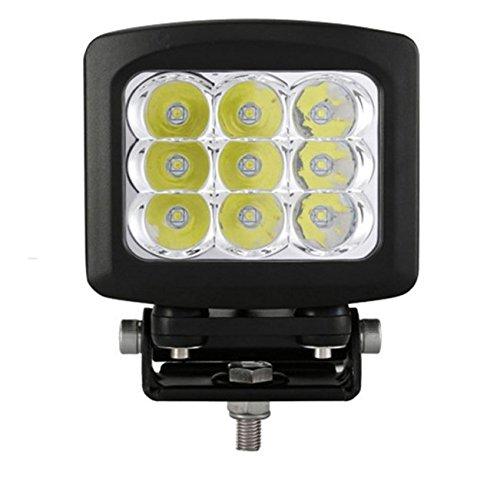 90W LED Auto Beleuchtung Arbeitsleuchte Strahler Auto Scheinwerfer hoch Wasserdicht Dach schwarz Flood fahren Lichtern (Größe: 135* 124* 160mm)